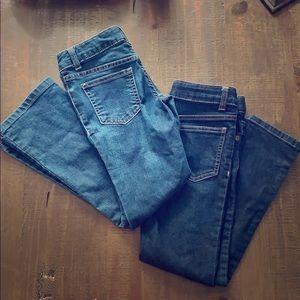 (2) Girls Jeans